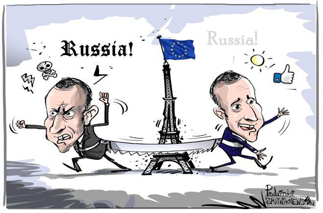 Macron: Rispetto Putin ma lui sogna di smontare l'Ue