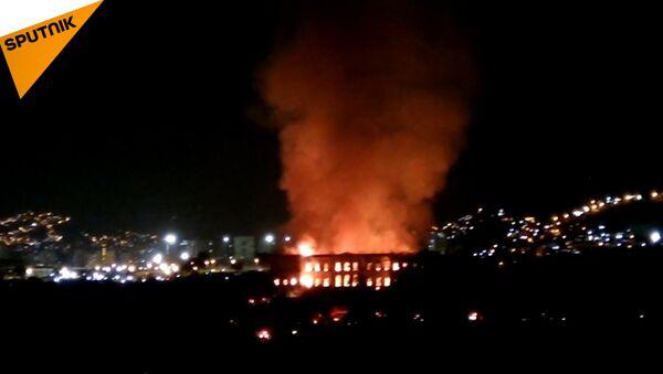 A Rio de Janeiro è andato bruciato il Museo Nazionale del Brasile - Sputnik Italia