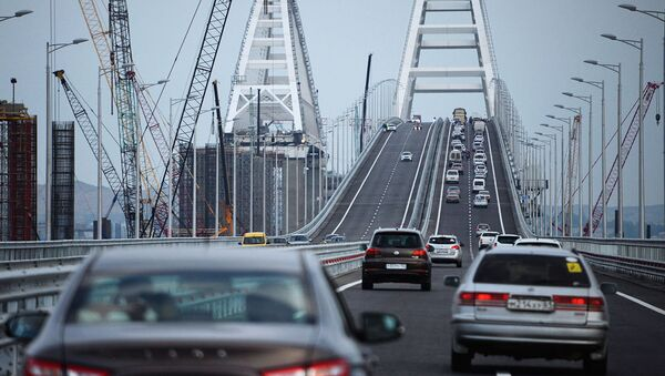 ponte di crimea - Sputnik Italia
