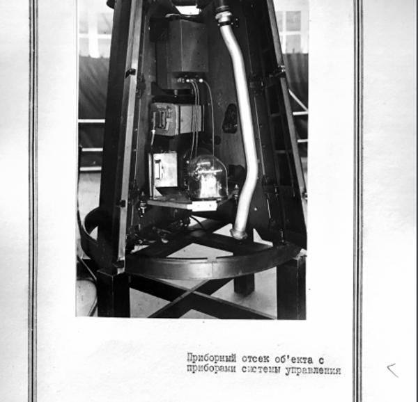 Scompartimento di controllo di R-1 - Sputnik Italia