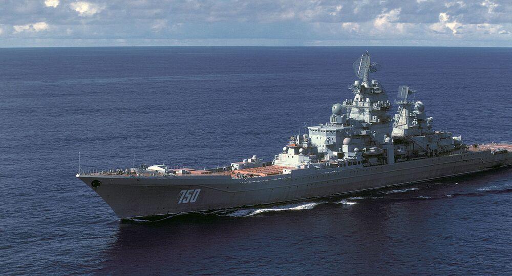 Un incrociatore russo classe Kirov