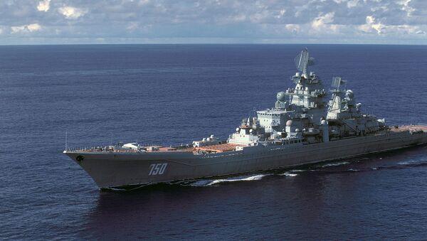 Un incrociatore russo classe Kirov - Sputnik Italia