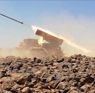 Scene di guerra in Siria