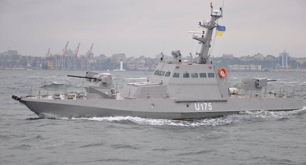 Nave militare ucraina (foto d'archivio)