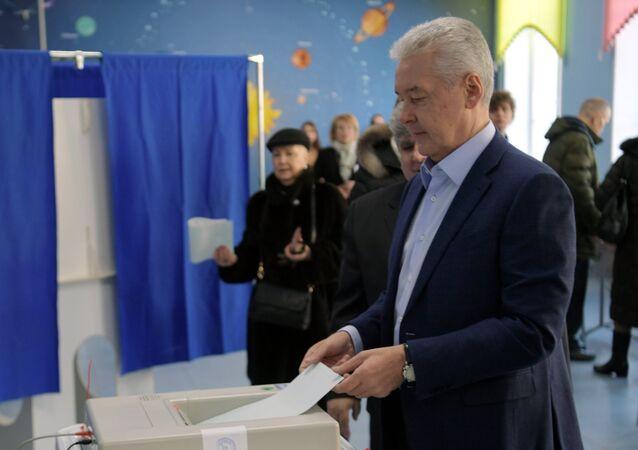 Il sindaco di Mosca Sergey Sobyanin