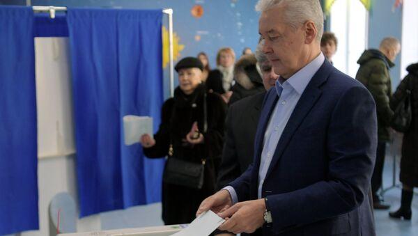 Il sindaco di Mosca Sergey Sobyanin - Sputnik Italia