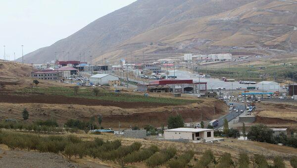 Haj Omran border is seen, on the border between Iran and Kurdistan, Iraq October 3, 2017 - Sputnik Italia