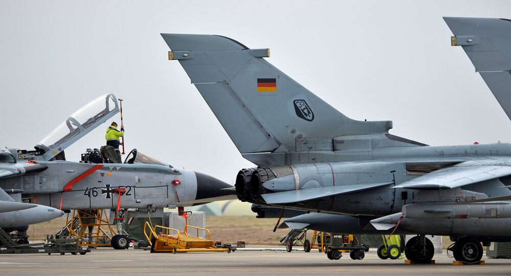 Tornado tedesco (foto d'archivio)