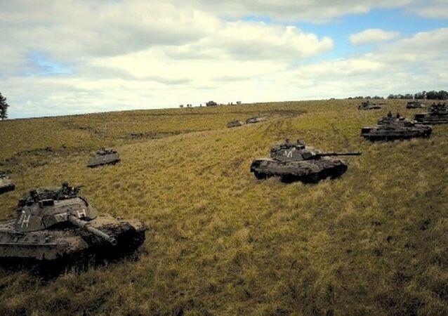 Blindati dell'esercito brasiliano