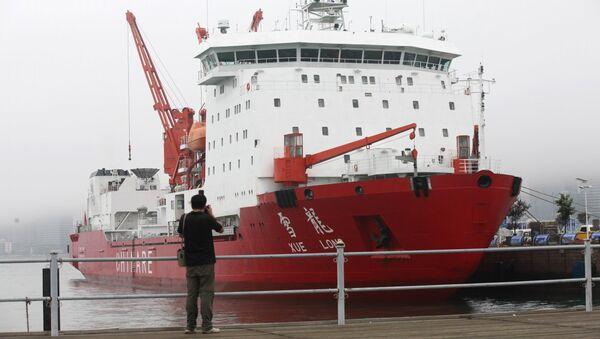 La Rompighiaccio Xuelong, della stessa classe alla quale appartiene la Xuelong-2 - Sputnik Italia