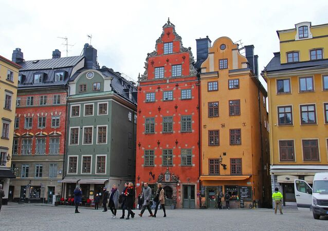 Gamla Stan, a Stoccolma, in Svezia
