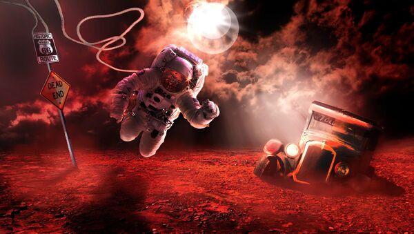 Astronauta su Marte - Sputnik Italia