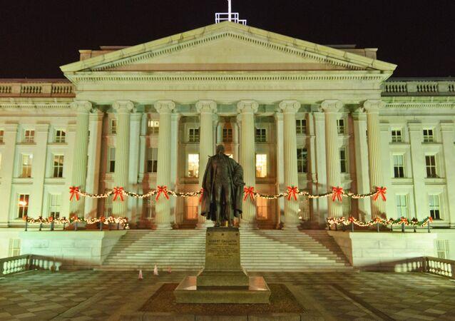 Il dipartimento del Tesoro degli Stati Uniti, Washington D.C.