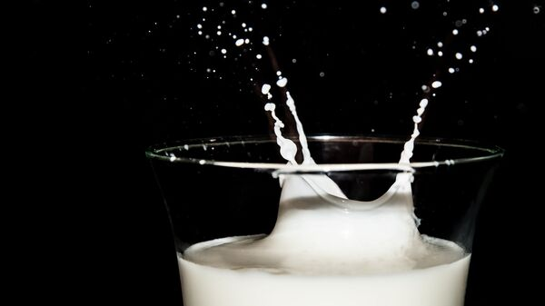 Latte versato - figura metaforica - Sputnik Italia
