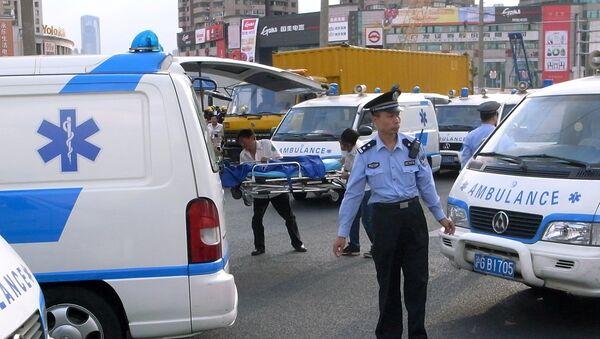 Ambulanza in Cina - Sputnik Italia