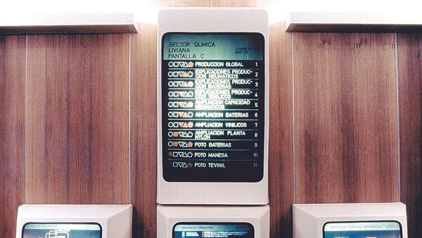 Cybersyn, sistema chileno de planificación económica controlada en tiempo real - Sputnik Italia