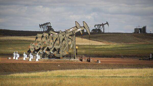 Un giacimento di shale gas a Williston, nello stato del North Dakota - Sputnik Italia