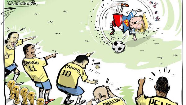 Trump vs Romario - Sputnik Italia