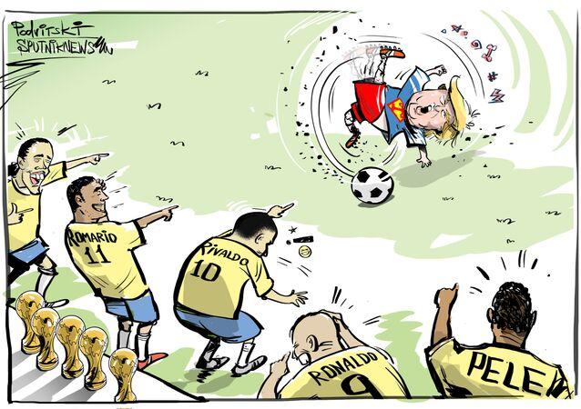 Trump vs Romario