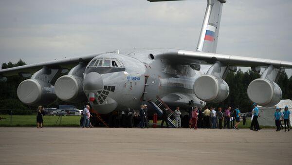 Un Il-76 russo - Sputnik Italia
