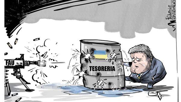 Poroshenko nega possibilità di default in Ucraina nel 2019 - Sputnik Italia