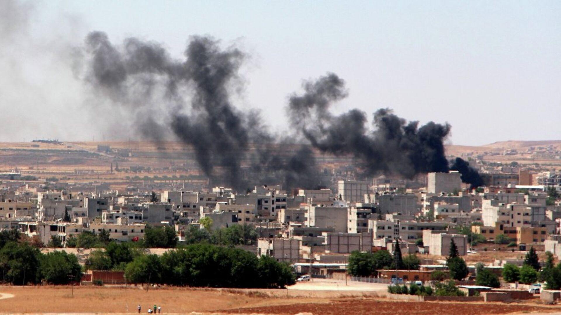 Ankara ha dato il via a una serie di raid aerei contro postazioni di gruppi jihadisti in Siria. - Sputnik Italia, 1920, 26.07.2021