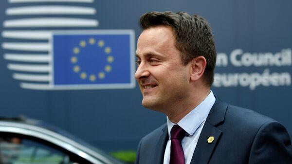 Primo ministro del Lussemburgo Xavier Bettel - Sputnik Italia