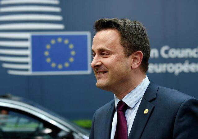 Primo ministro del Lussemburgo Xavier Bettel