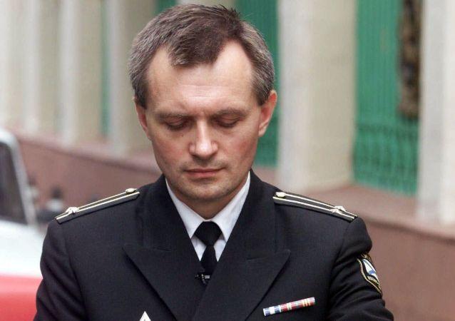 Portavoce della marina russa Igor Dygalo