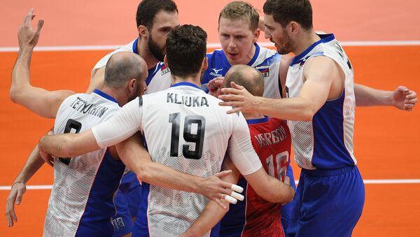 Il team russo di pallavolo maschile - Sputnik Italia