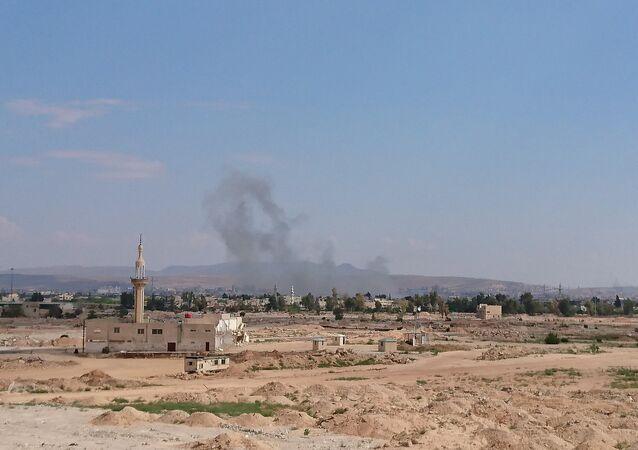 L'attacco nel sud di Damasco