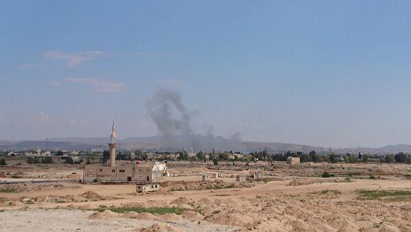 L'attacco nel sud di Damasco - Sputnik Italia