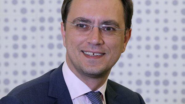 Министр инфраструктуры Украины Владимир Омелян - Sputnik Italia