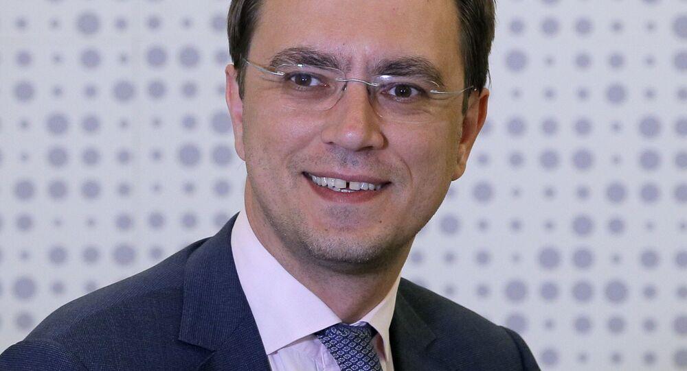 Ministro delle Infrastrutture dell'Ucraina Volodymyr Omelyan