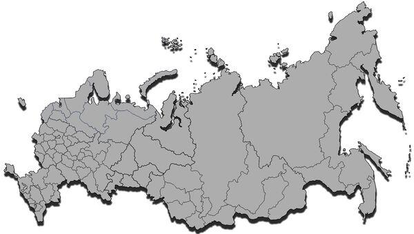 Carta amministrativa Russia - Sputnik Italia