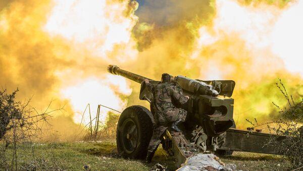 Syrian army in Idlib province. File photo - Sputnik Italia