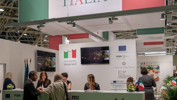 Il padiglione italiano a World Food Expo  - Sputnik Italia