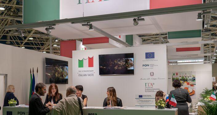 Il padiglione italiano a World Food Expo