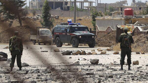 Polizia militare russa in Siria - Sputnik Italia
