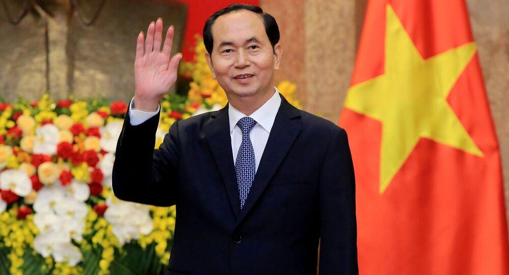 Il presidente del Vietnam Tran Dai Quang (Foto d'archivio)