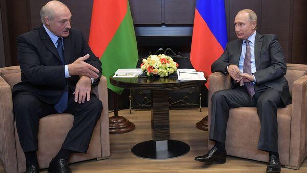 Встреча президентов Беларуси и России Александра Лукашенко и Владимра Путина - Sputnik Italia