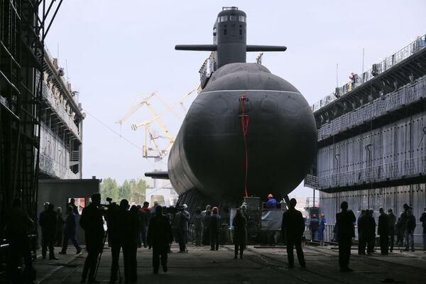 Il sottomarino diesel Kronstadt del progetto 677 è stato varato con successo a San Pietroburgo. - Sputnik Italia