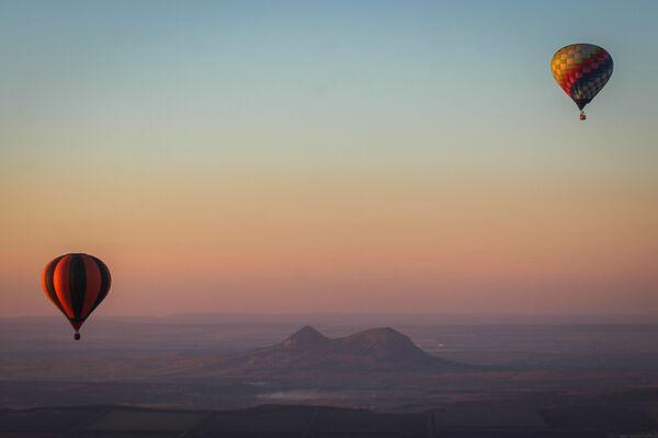Le mongolfiere al festival del territorio di Stavropol, Russia. - Sputnik Italia