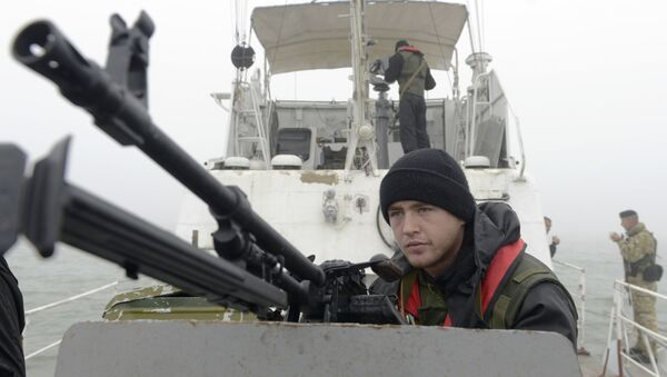 Mar d'Azov, la guardia costiera ucraina - Sputnik Italia
