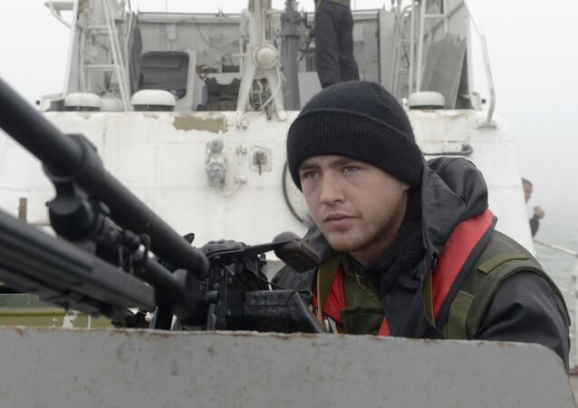 Mar d'Azov, la guardia costiera ucraina