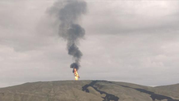 L'eruzione del Otman-Bozdag - Sputnik Italia