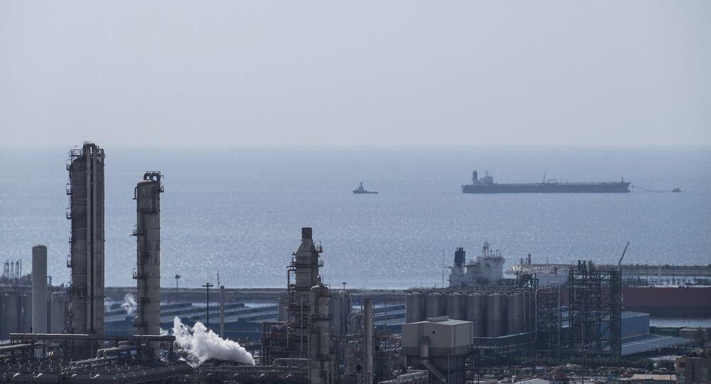 Giacimento di gas in Iran