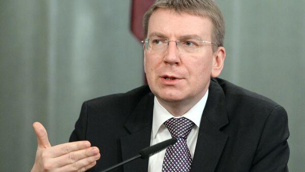 Latvian Foreign Affairs Minister Edgars Rinkevics - Sputnik Italia