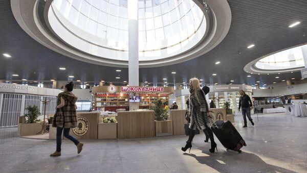 Aeroporto di San Pietroburgo (foto d'archivio) - Sputnik Italia