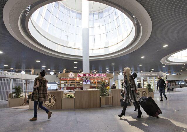 Aeroporto di San Pietroburgo (foto d'archivio)